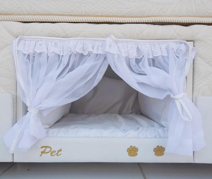 实现和汪汪一起睡~ 超猛床垫「自带宠物床」还有公主风门帘❤